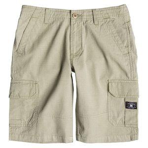 🆕Youth DC Cargo Shorts Khaki Color